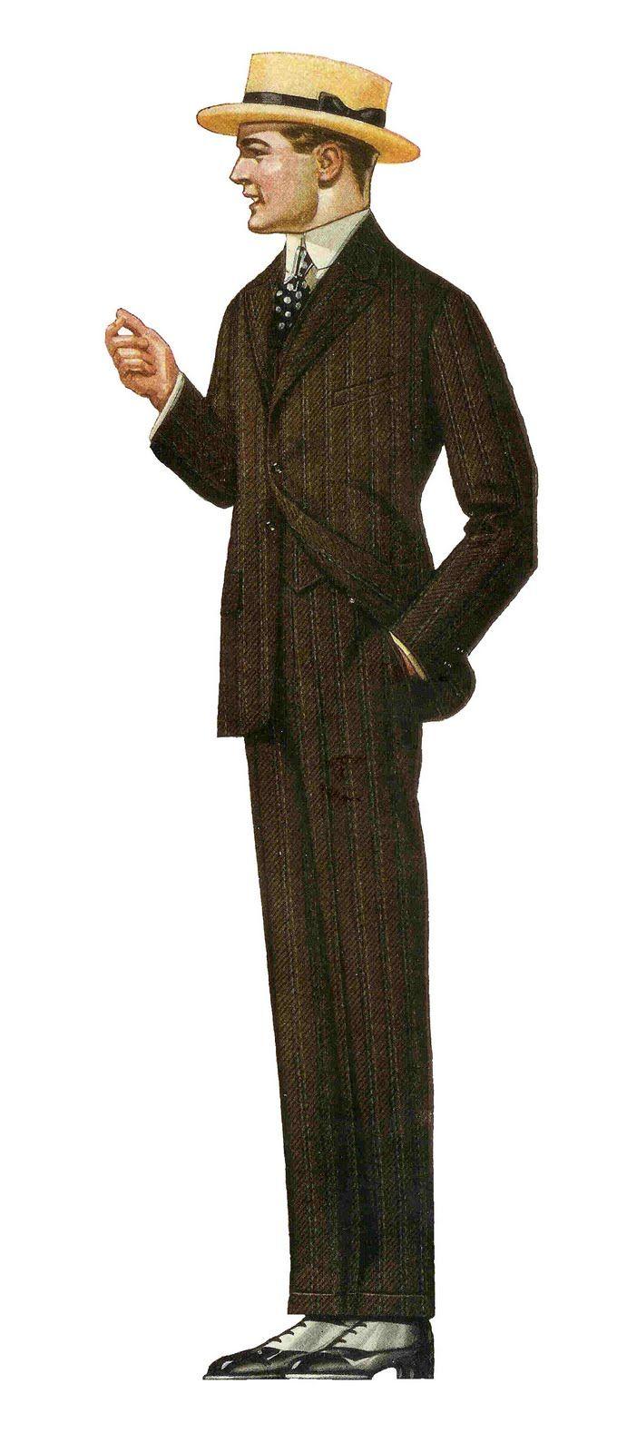 Victorian clipart wardrobe Art Clip Father's Fashion Men's
