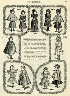 Victorian clipart wardrobe Vintage graphics vintage page book
