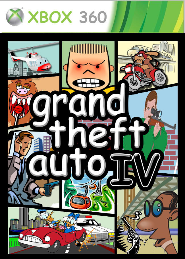 Album Cover clipart video game box art #6