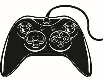 Video Game clipart electronic game Video Etsy Video clipart Controller