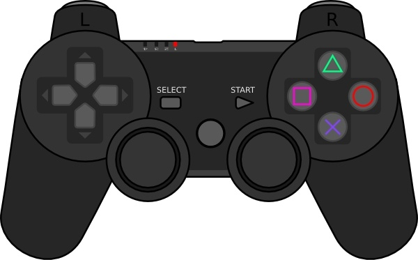 Controller clipart gamepad Commercial vector) vector clip download