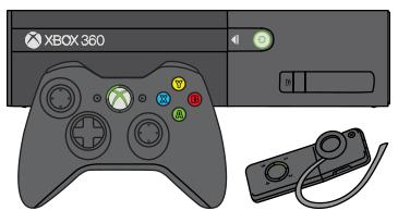 Shutdown Button clipart xbox   Wireless 360 headset