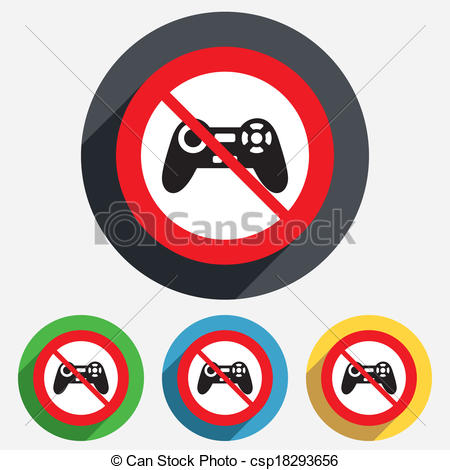 Video Game clipart no more Of  not Joystick play