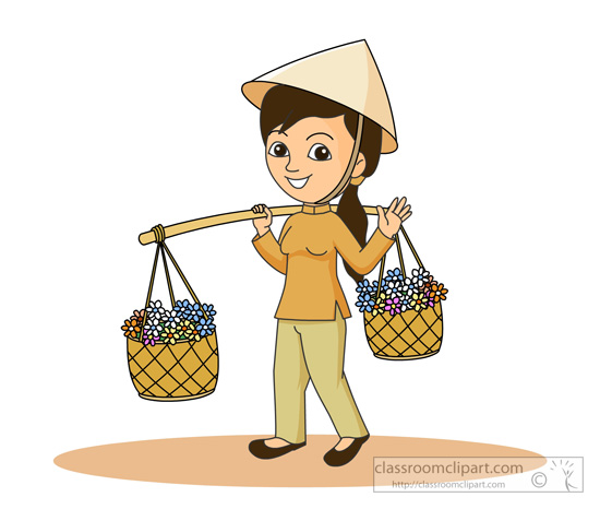 Vietnam clipart hat Results Pictures vietnam woman going