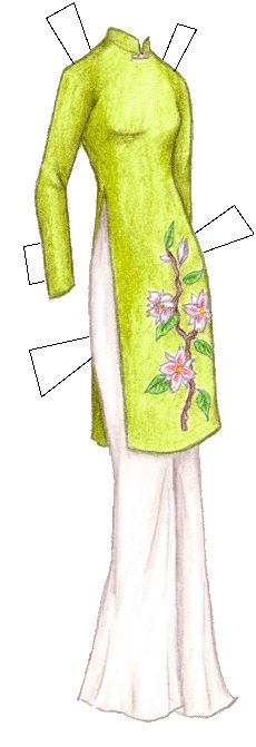 Vietnam clipart ao dai And Ao on Pinterest Find