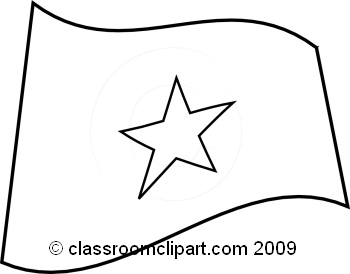 Vietnam clipart black and white Jpg Clipart : Classroom Vietnam_flag_BW