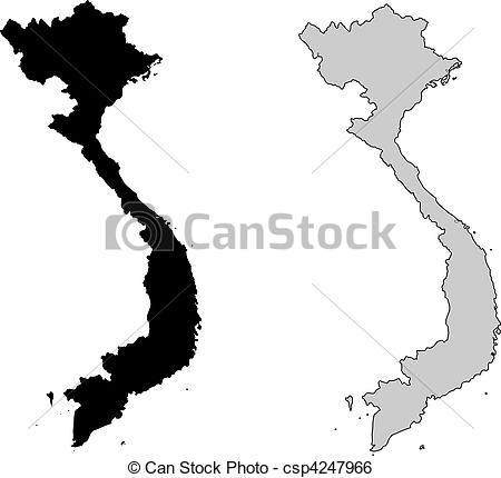 Vietnam clipart black and white And art Vector projection 2