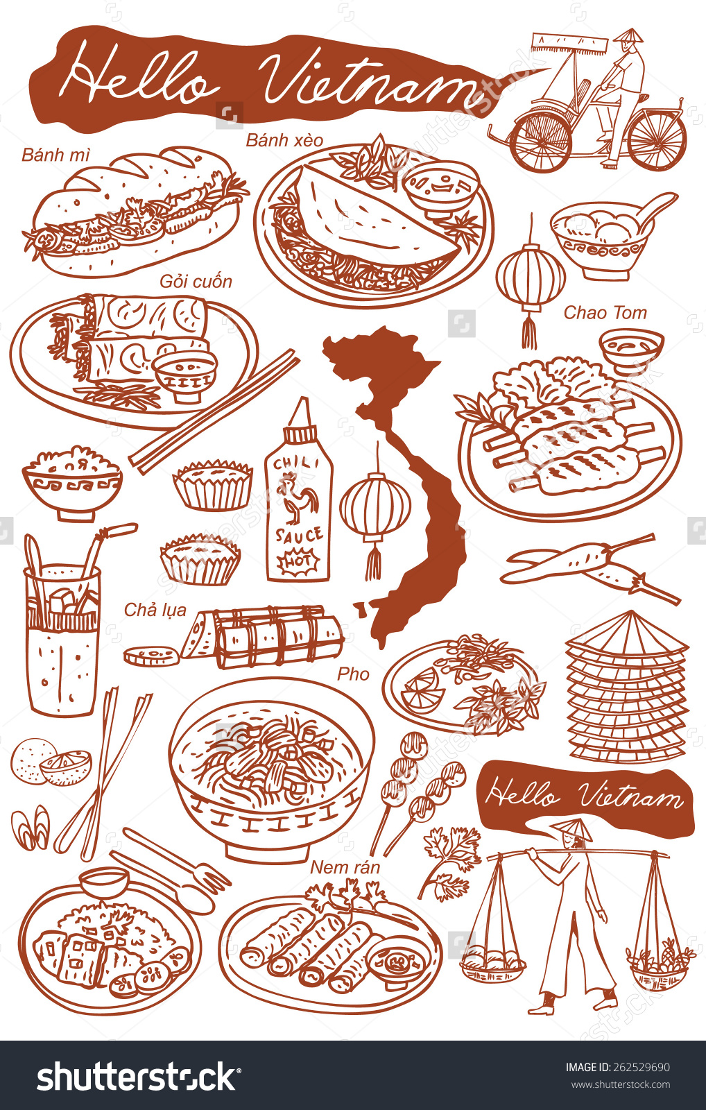 Vietnam clipart pho Watermark non food clipart watermark