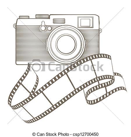 Vignette clipart black and white  with vignette photo Vector
