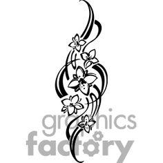 Vignette clipart black and white Bird Clip Free Vector Art