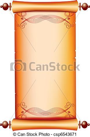 Vignette clipart decorative scrolling #4