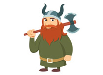 Medieval clipart viking Clipart Warrior Art Illustrations Vikings