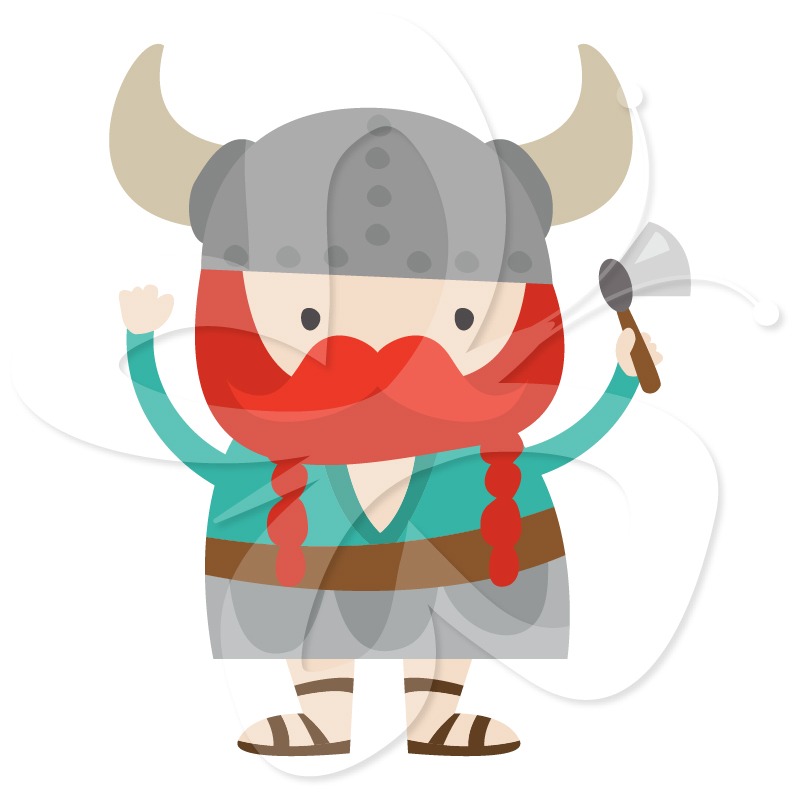 Viking clipart Collection Viking Set Creative Viking