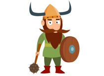 Viking clipart Vikings Illustrations Clip Warrior Vikings
