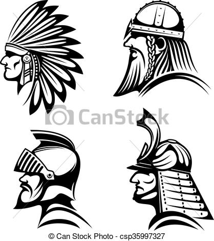 Ancient clipart indian Native photo_csp35997327 indian Vector