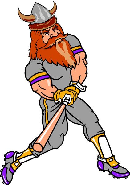 Viking clipart baseball Clip mascot Cliparts Viking Art