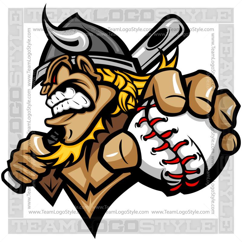 Viking clipart baseball Viking  Viking Vector Baseball
