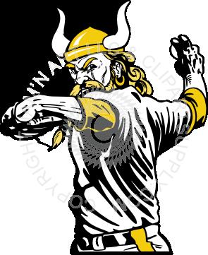 Viking clipart baseball Throwing Viking baseball baseball throwing