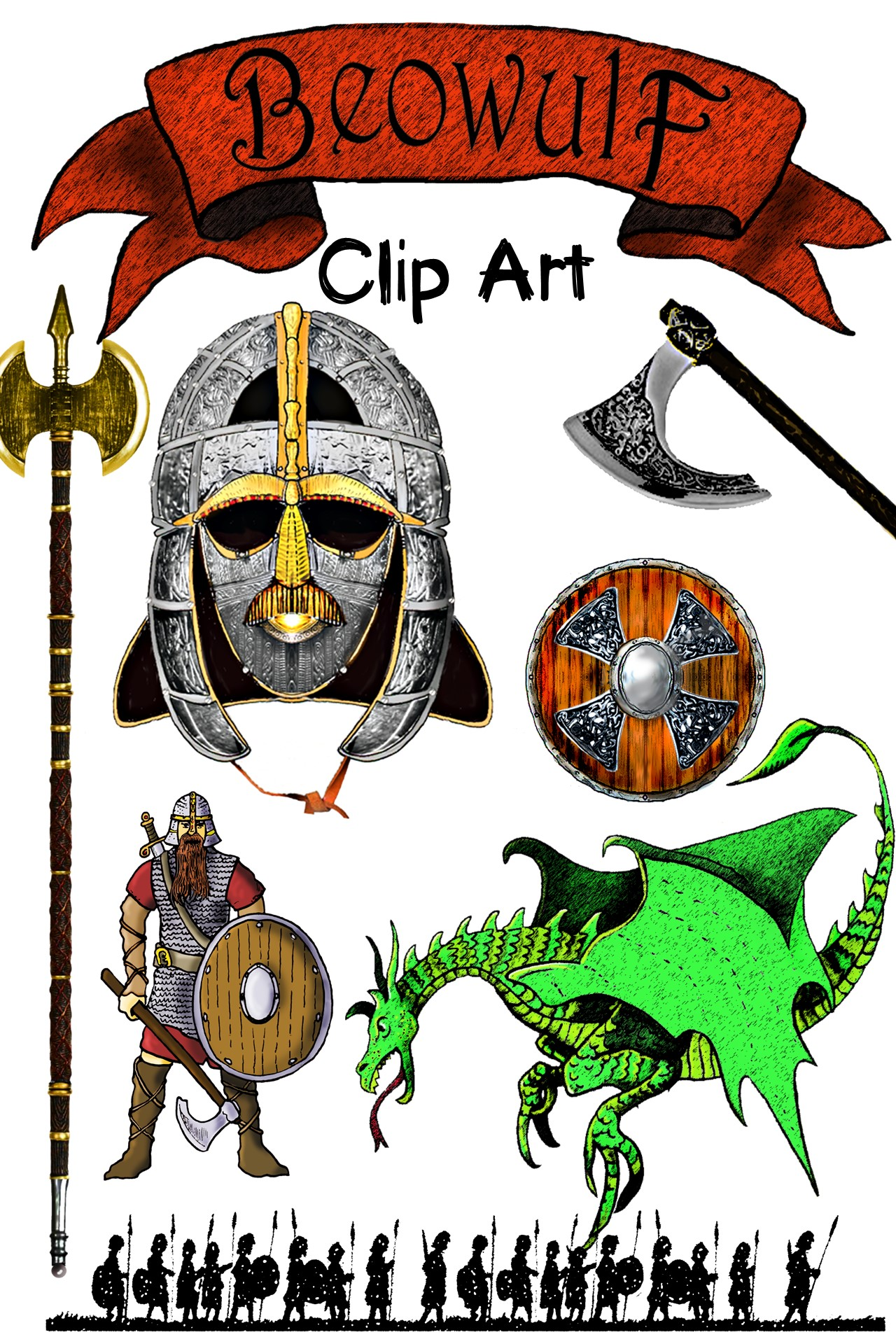 Coture clipart english language development Beowulf Clipart Beowulf board Bulletin