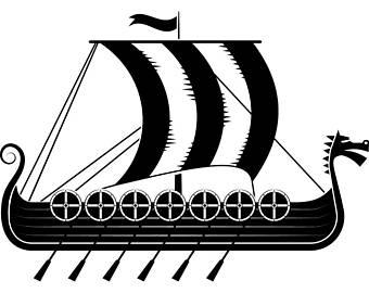 Viking clipart boot Norway Viking Viking Warrior Ship