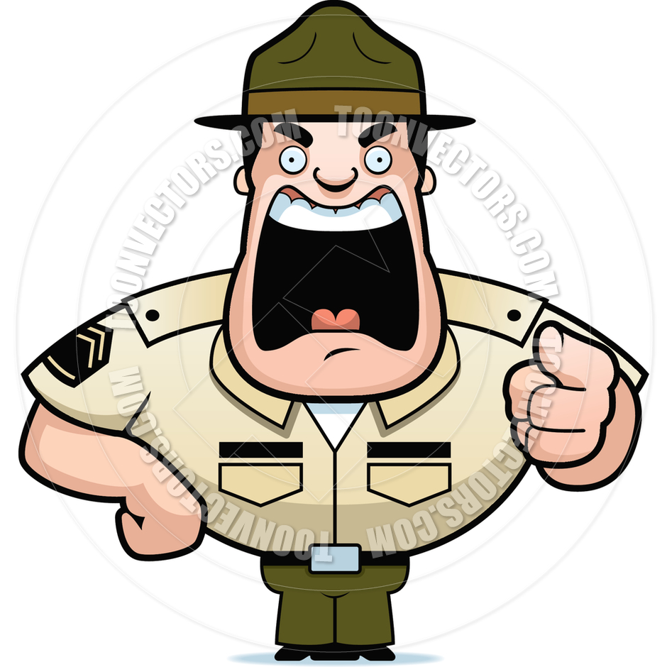 Viking clipart boot Viking Drill Sergeant Clipart cliparts