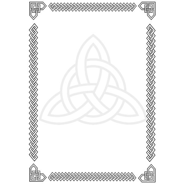 Celt clipart border Unique & Celtic Designs celticangularknots