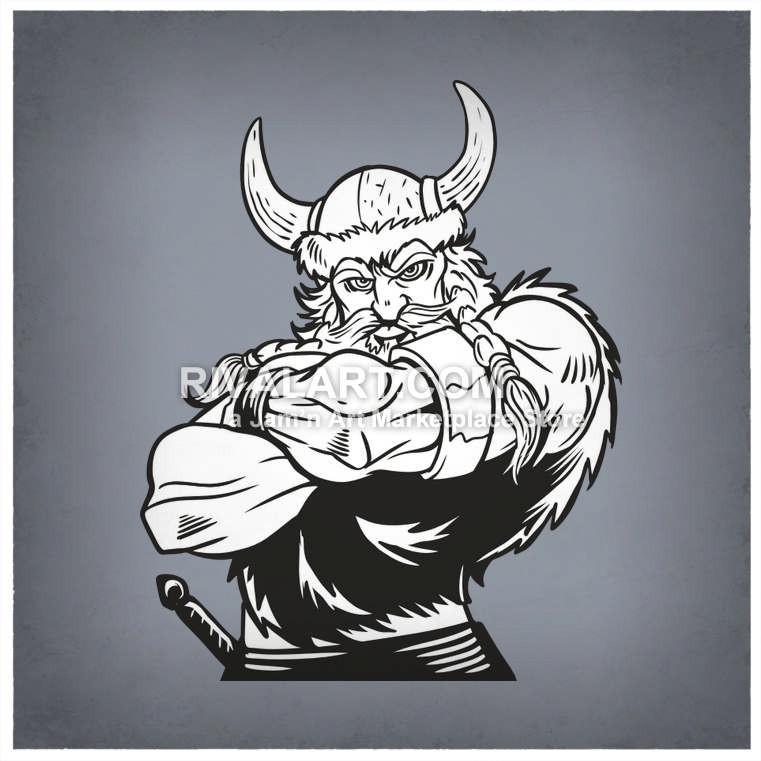 Viking clipart muscular His Muscular Rivalart Viking on
