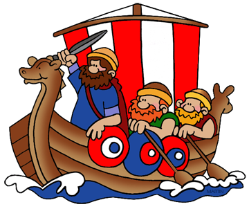 Ancient clipart transportation Art Vikings  Martin by