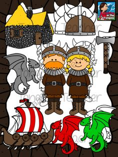 Viking clipart tudors Invade school Tudors Vikings on