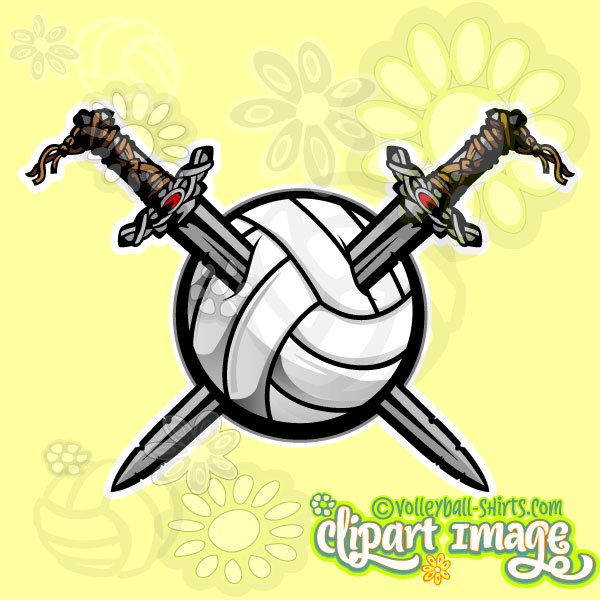 Viking clipart silly Art Clipart Volleyball Viking Volleyball