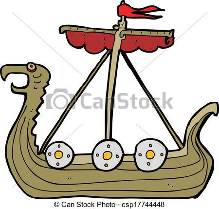 Viking Ship clipart Download Viking clipart Viking drawings