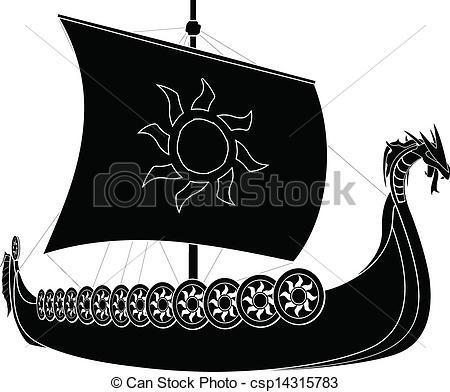 Viking Ship clipart Longship viking Clipart image viking