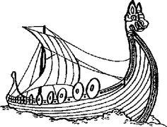 Viking Ship clipart And VIKING Froth Vikings Stamp~Nordic