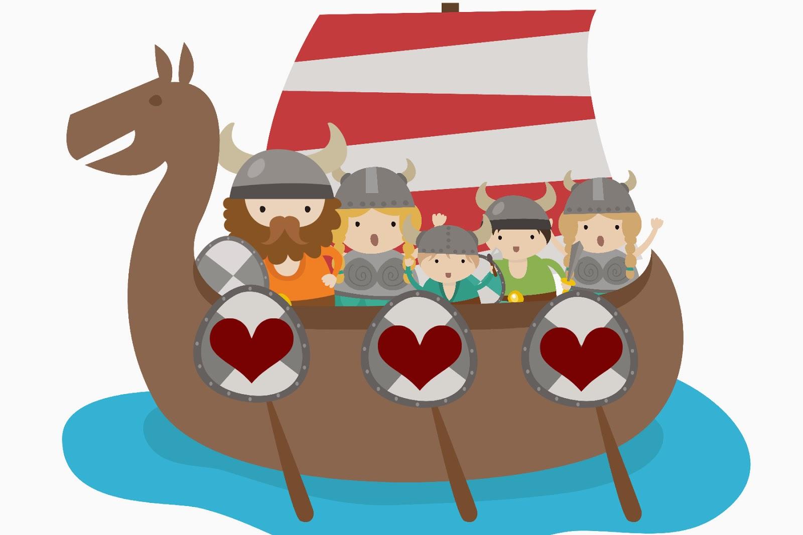 Totem Pole clipart viking Valentine Viking Free Printable You