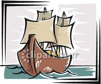 Boat clipart old fashioned Art Ship Ship Clip Art