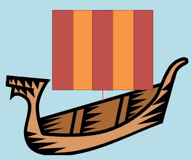 Viking Ship clipart vicious Fractions 79 about maths activities