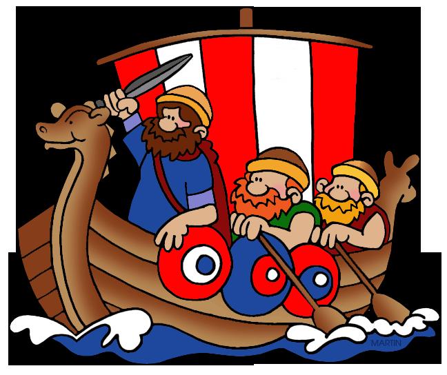 Viking Ship clipart viking boat Clip Viking Vikings Art Phillip
