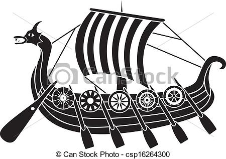 Clipart Download ship viking; Drakkar