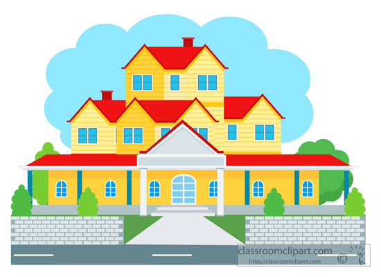 Villa clipart house background Pictures for Size:  Results