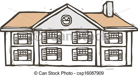 Villa clipart house background Clip placed is Art A