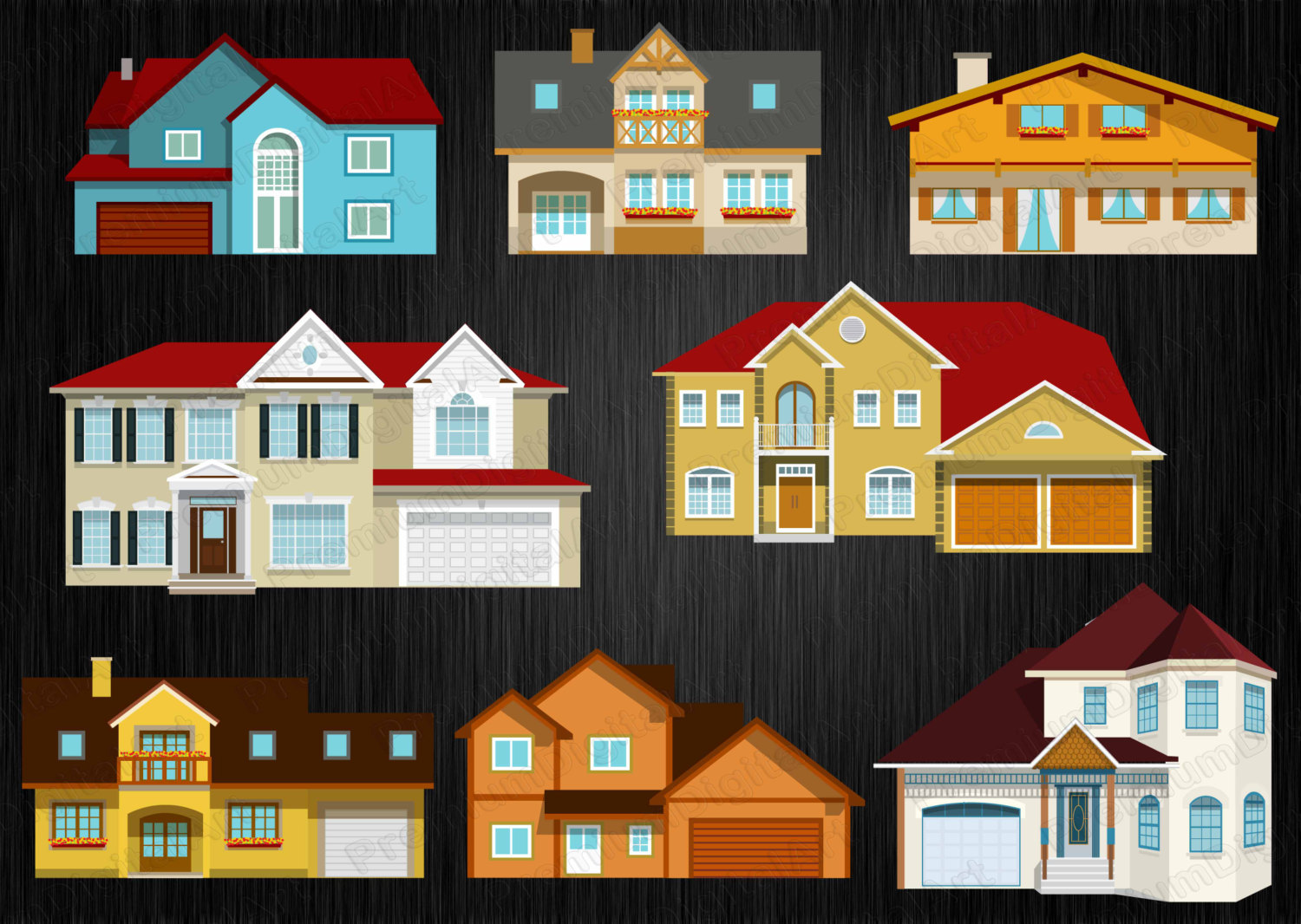 Villa clipart hause This house country 8 a