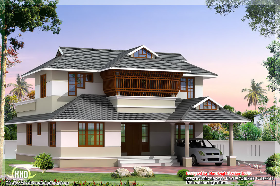 Villa clipart indian house Villa House 2200 Plans