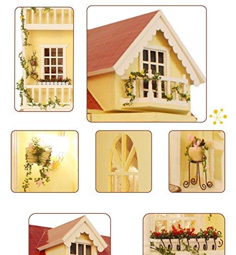 Villa clipart large house House Light Dollhouse  DIY