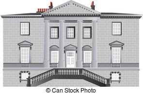 Villa clipart manor English An House Manor Manor