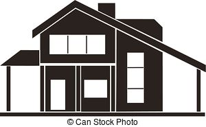 Cottage clipart vector – clipart house Download vector