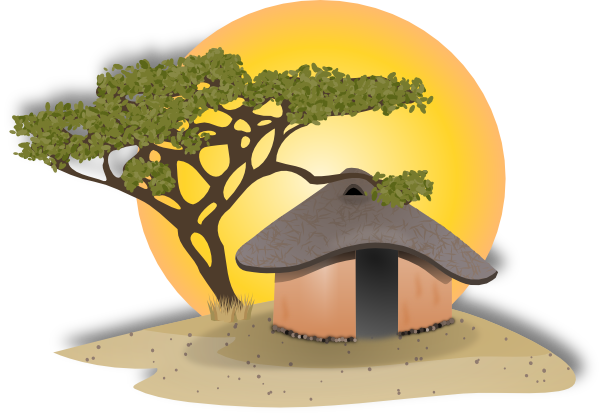 Village clipart African Clipart  Village