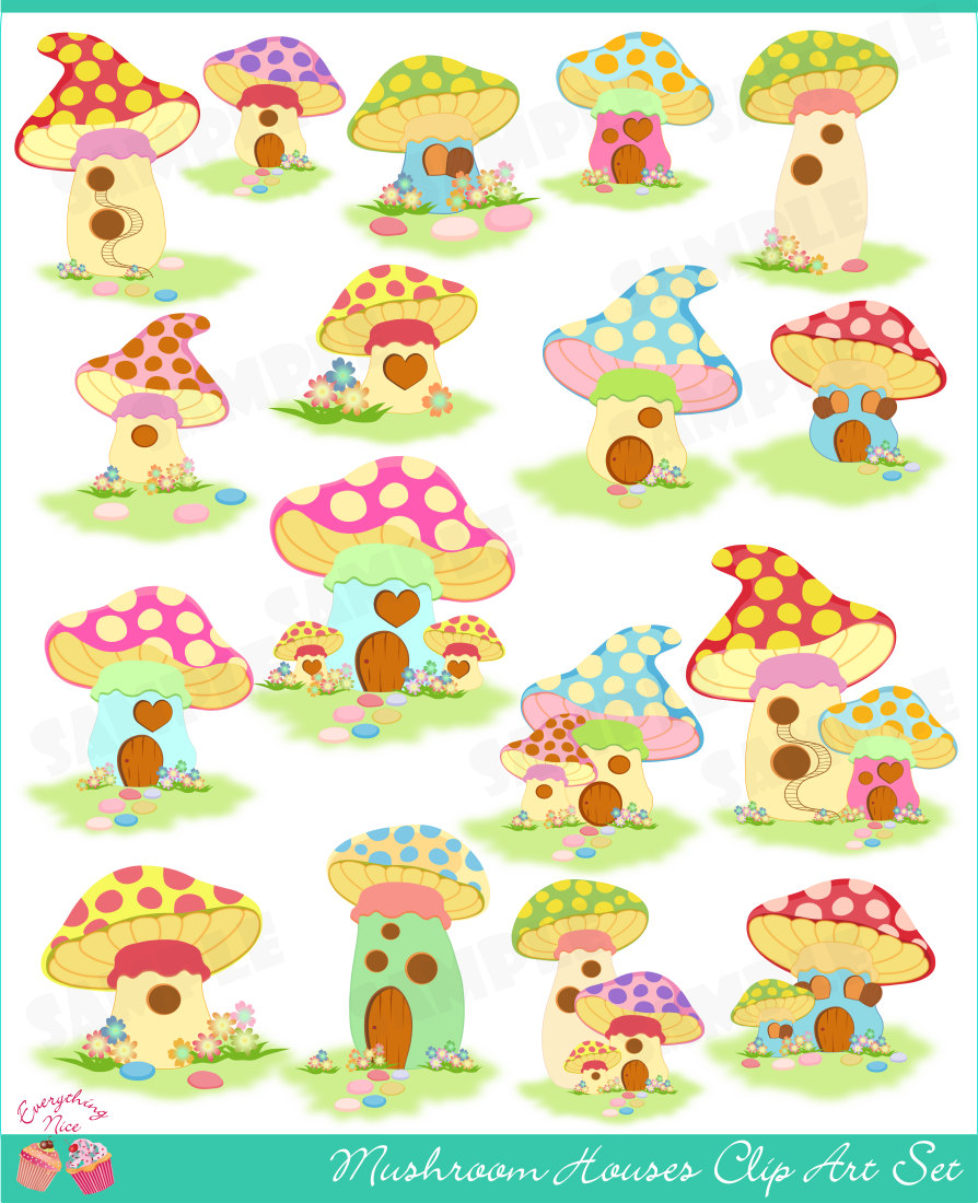 Cottage clipart mushroom Mushroom  clipart Search Pinterest