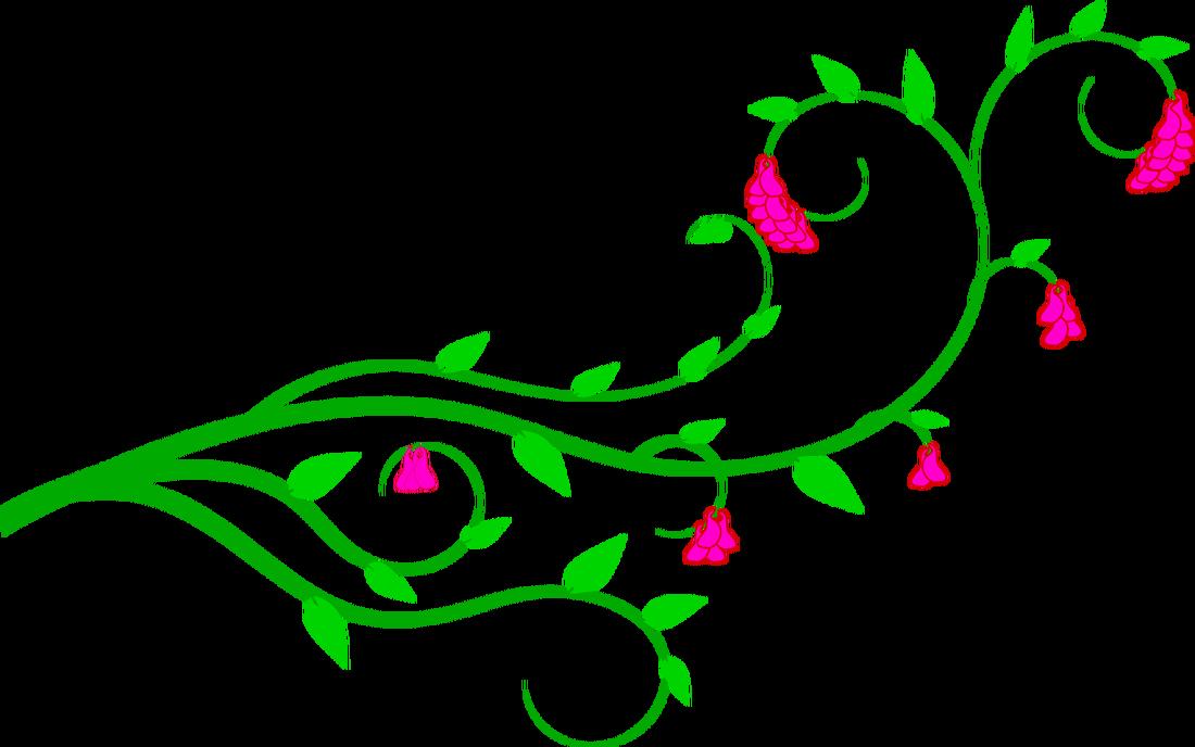 Vine clipart Of clip flower vines clipart