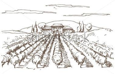Vineyard clipart Vector Free Free Art on