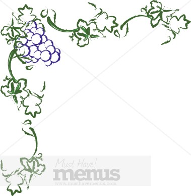 Wine clipart grape plant Vineyard  Clipart Grapes